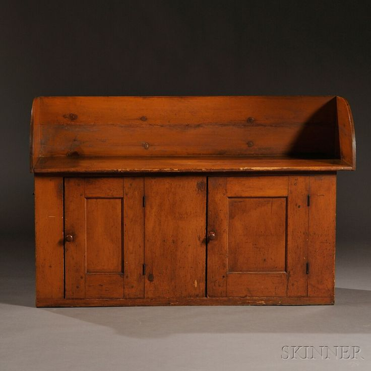 Shaker Pine Washstand | Sale Number 2731M, Lot Number 103 | Skinner Auctioneers
