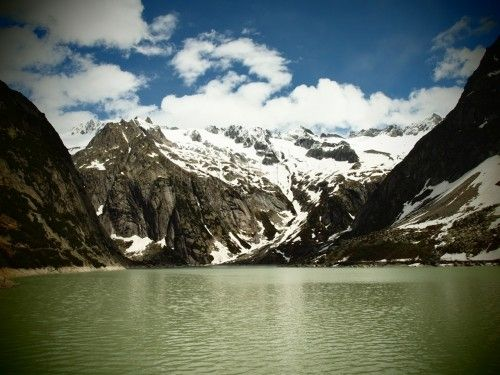 Gelmersee, Lago de Gelmer - Gutannen