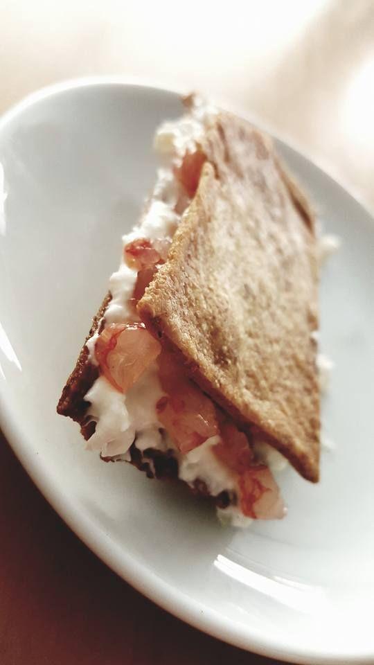 cracker di Gambero rosso di Mazara: ottimo pesce in meravigliosa montagna
