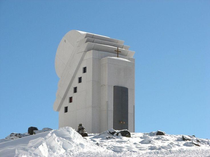Pitztaler Gletscher - Tirol - Österreich - Kapelle des weißen Lichtes