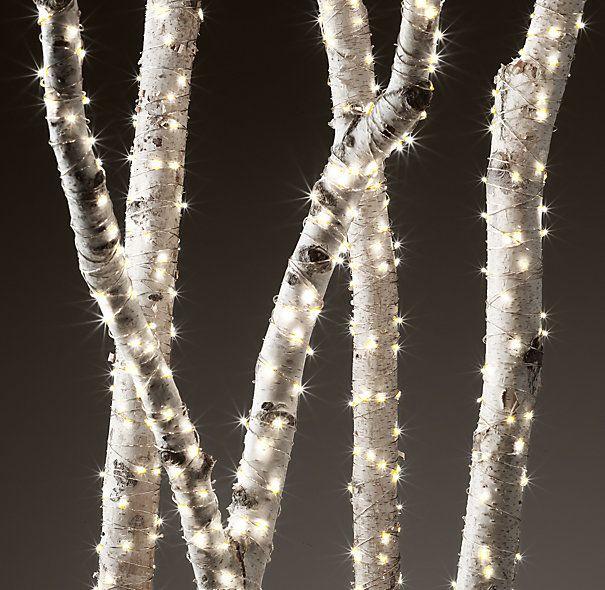 Starry String Lights - Diamond Lights on Silver Wire