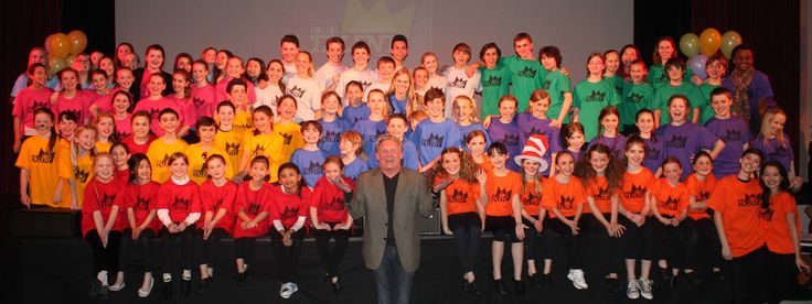 Founder Jimmy Nixon with the participants of Kids Got Talent - March 1st, 2014