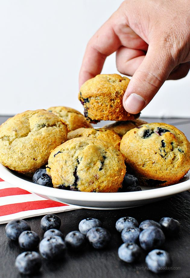 Banana Blueberry Muffins | Recipe | Chocolate chips ...