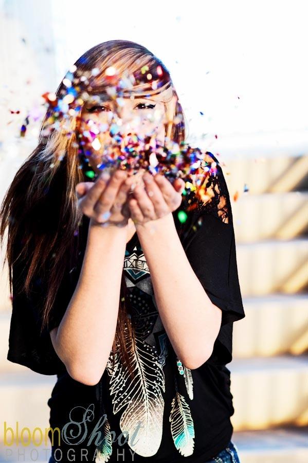 Glitter!!!   Senior Pics