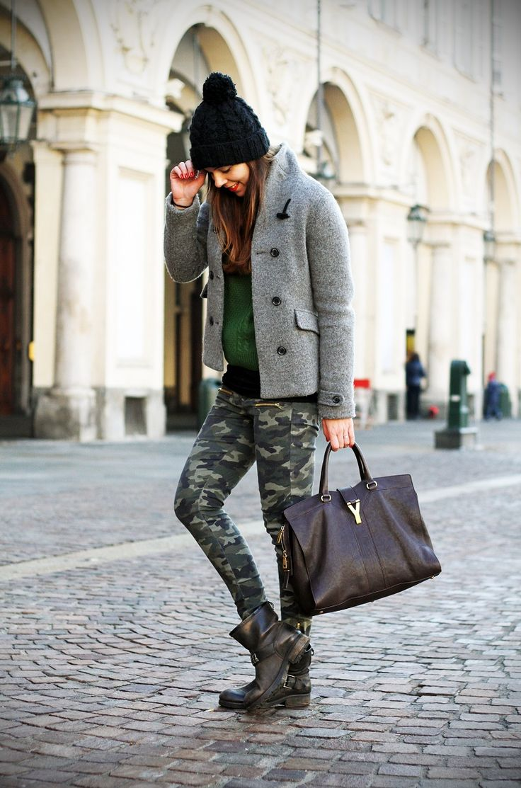 pantaloni militari #skinny #fashionista #military #trousers