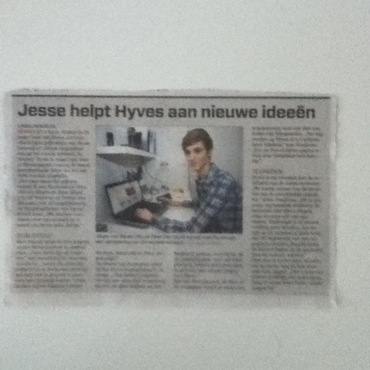Jesse van Doren Algemeen Dagblad (AD) Hyves