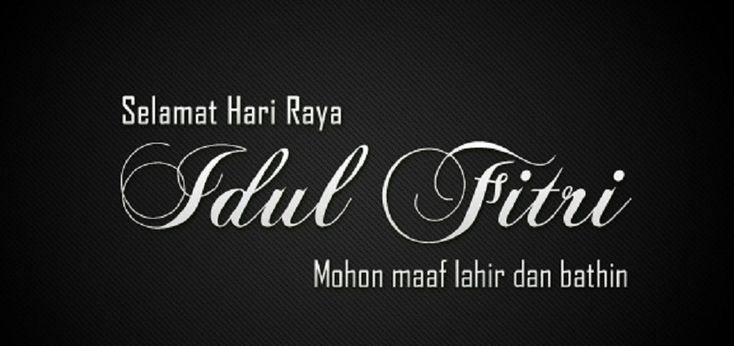 30 Kartu ucapan selamat Hari Raya Idul Fitri untukAnda