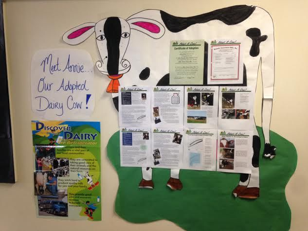 Class pet ideas: guinea pig, hamster, goldfish… cow?! #AdoptACow to be your classroom mascot for the year! http://bit.ly/2bcEbb2