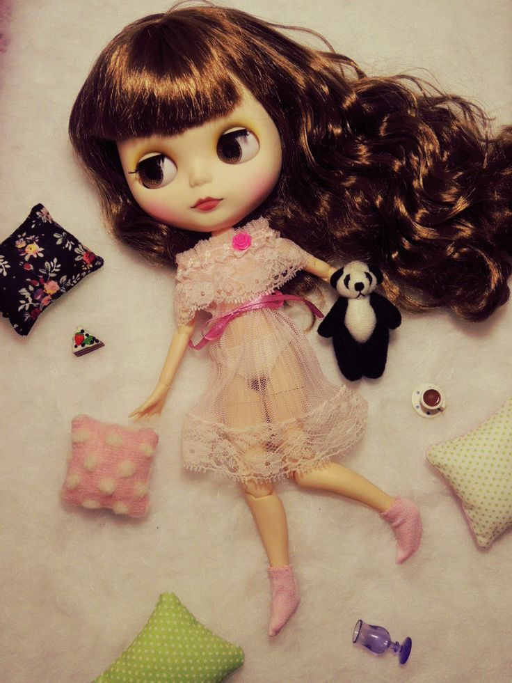 Sweet pink lingerie +panfies for Blythe/Neo Blythe by Dress4bjd on Etsy