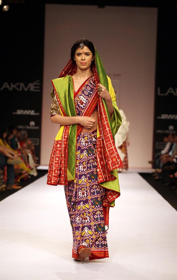 Gaurang Shah - Patan Patola Lengha 5 - TheBigFatIndianWedding.com