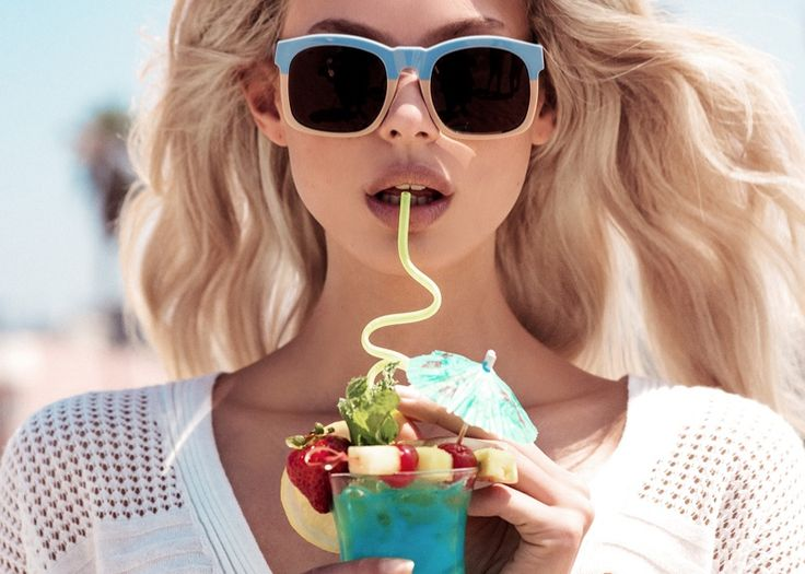 Wildfox features bi-color sunglasses for spring 2017