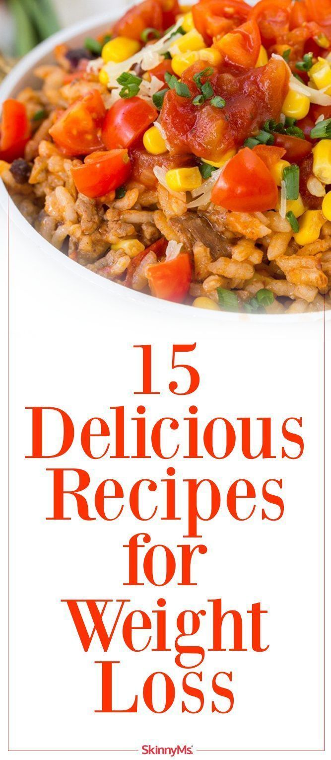 15 Delicious Recipes for Weight Loss