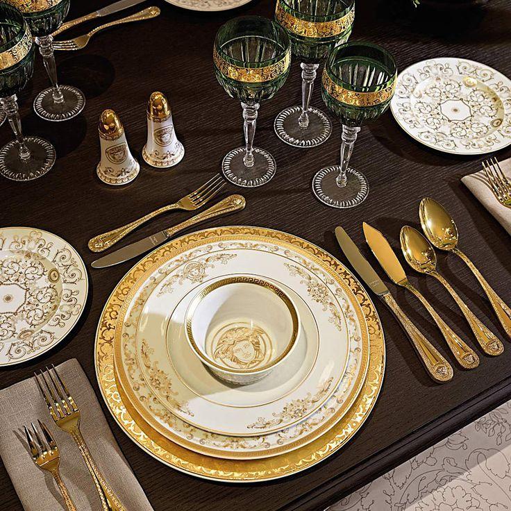 Aparelho de Jantar Versace Casa Medusa