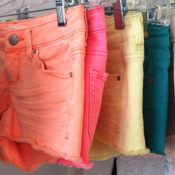 Love colored shorts