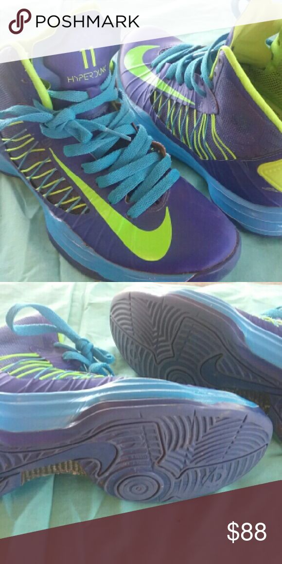 youth basketball shoes Size 5.5 Nike Hyperdunk 11 basketball shoes worn for one game. Great deal Nike Shoes Sneakers