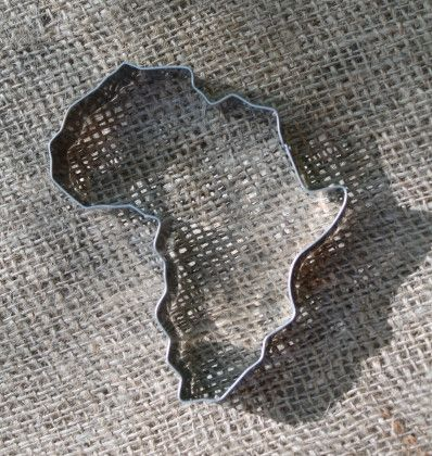 We can help you with your creative side for a Sole Hope shoe cutting party, Ambassador event or anything else Africa related! This STAINLESS STEEL Africa Cookie Cutter is a cut above the rest! Unlike