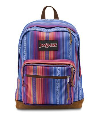 Explore the features of our Right Pack World backpack. Available in a variety of cultural patterns, this stylish backpack is perfect for anyone on the go.