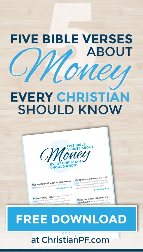 328 best spiritual journey images on pinterest christian living 5 bible verses about money every christian should know fandeluxe Choice Image