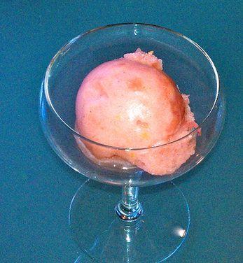 Plum Prosecco Sorbet, a recipe on Food52