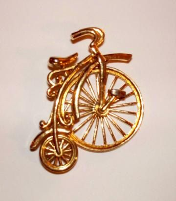 Vintage Victorian Old Fashioned Bicycle by AFwofMyFavritThings, $9.95