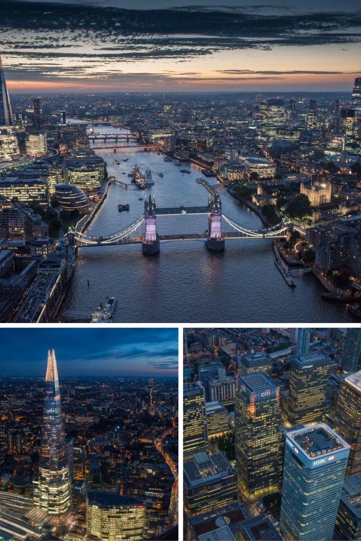 These amazing photos of London's famous landmarks from above prove that it really is the most beautiful city.  Jason Hawkes has been shoting aerial images for more than two decades, and shot these particular panoramic photos over the last year.