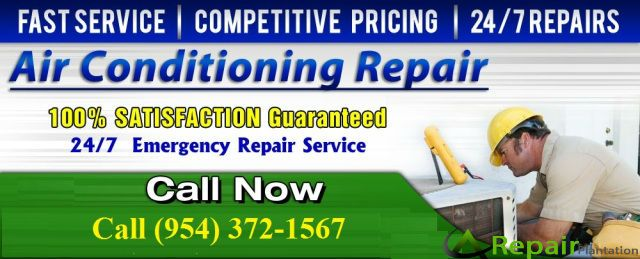 Make the inside air of your home absolutely pure and refreshing by making your air conditioner serviced by AC repair Plantation that has the capability of making the AC unit absolutely perfect so that it gives you the proper service. For more information, call it at (954) 372-1567.