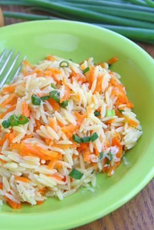 Морковено орзо