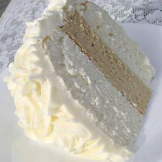 COOKING GUIDE: White Almond Wedding Cake