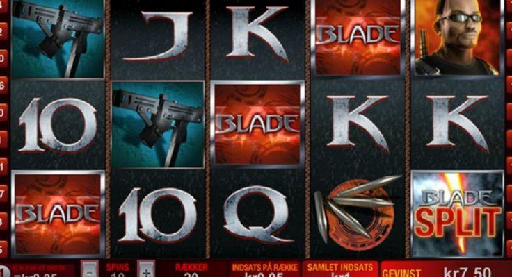 Blade er en 5-hjuls, 20 line slot videospil med temaet for den kendte tegneserie og film helten Blade. Den slot tilbyder en scatter symbol, wild symbol og en interessant split symbol. #Spillemaskinergratis #Spillemaskiner #jackpot #game #gratisspin