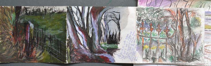Coleg Menai Bangor. BTEC Extended Diploma in Art & Design. Generating Ideas - Theme:Distortion