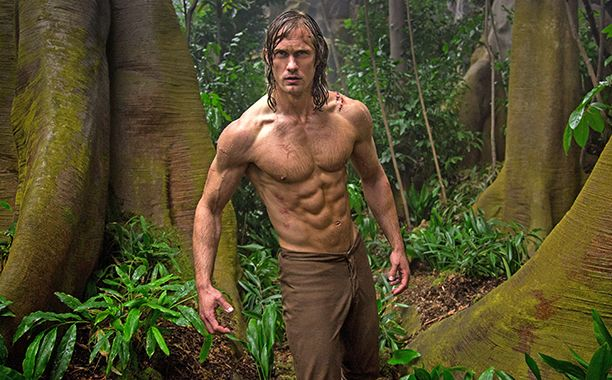 If you're going to play the king of the jungle, you need to look like you can swing from vines, leap from cliffs, and, of course, keep up with the apes. So when Alexander Skarsgård landed the titular role in The Legend of Tarzan, he launched into a months-long training regimen that was, well, a beast.