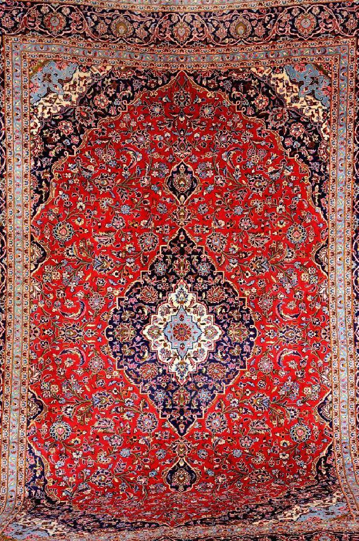 Kashan 'Carpet',, Kashan 'Carpet', Persia, circa 40 years old, wool/cotton, approx. 407 x 290 cm