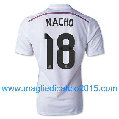 Real Madrid magliette da calcio 2014/2015 NACHO 18-Local