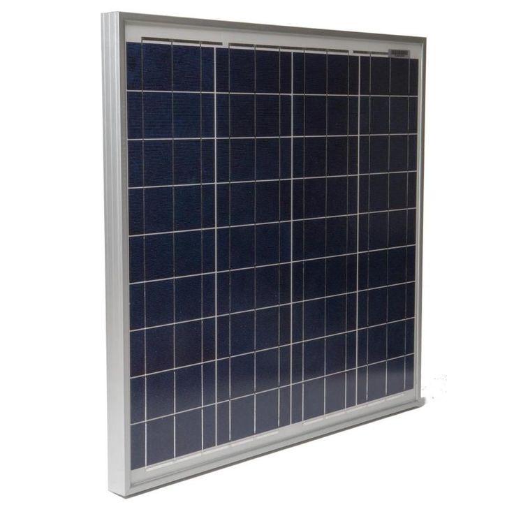 Grape Solar 1 Module 25 0 In X 27 0 In50 Watt Solar Panel Gs Star 50w In 2020 Solar Panels Solar