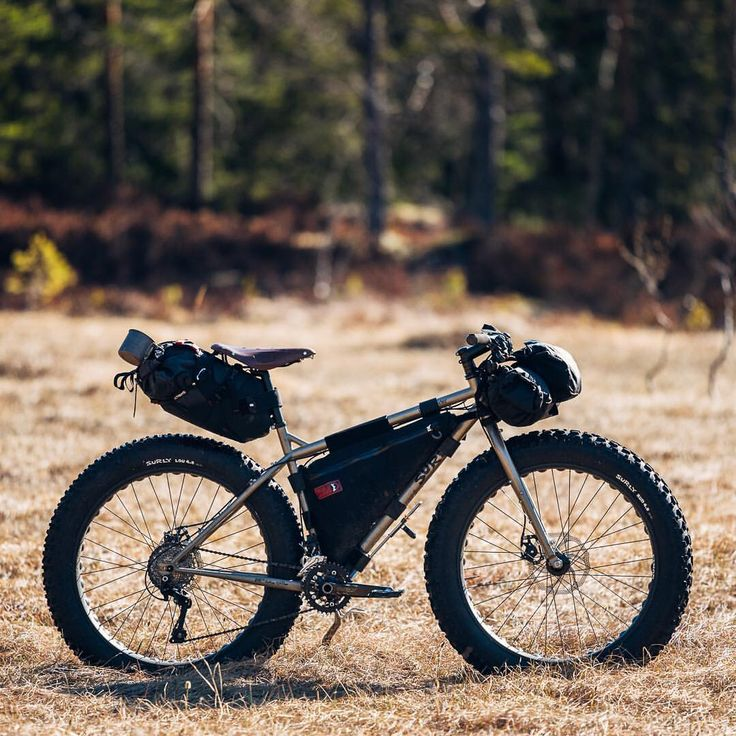 Bike in a bog. Normally a no-go (even with fat tires), but despite the temps reaching 20 degrees Celsius this weekend, some bogs were still frozen.