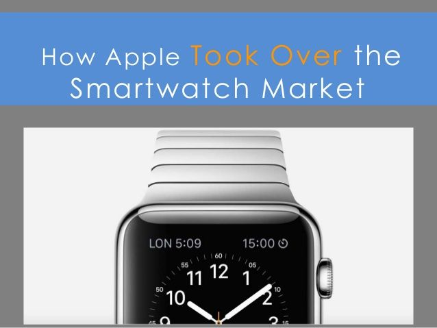 How Apple Took Over the Smartwatch Market