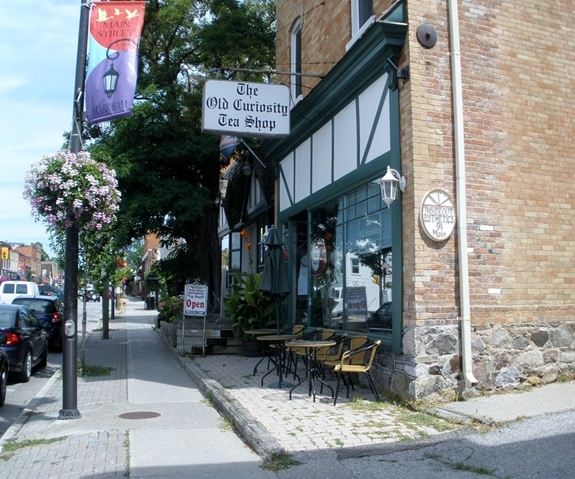 old curiosity tea shop - Markham Ontario