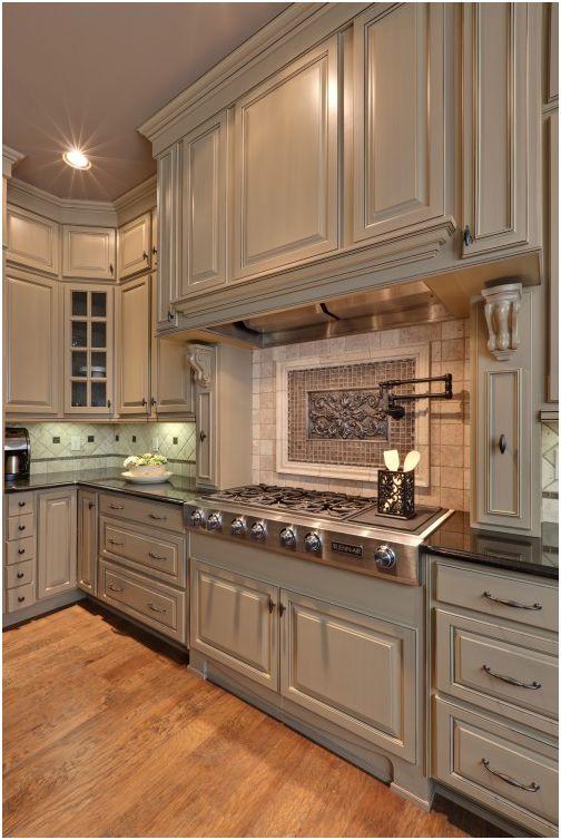 cocina con panel para salpicaduras