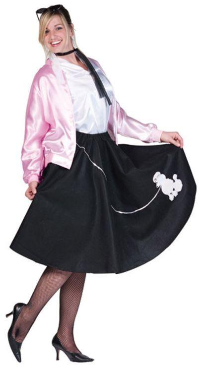 Adult Poodle Skirt Plus Size Costume Ideas