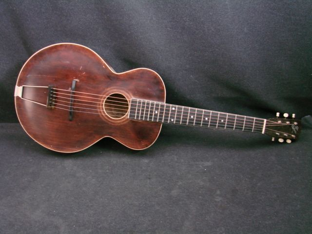 Gibson L-1. This is the precursor of the type of guitar Robert Johnson played. This is an Archtop and his was not.