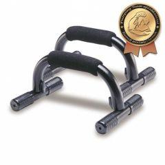 A fekvőtámasz gyakorlatát megkönnyítő termék. Kiszerelés: pár
