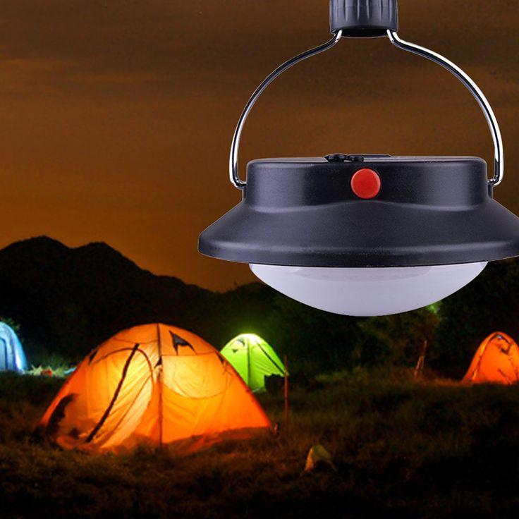 Portable 60 LED Lámpara de Camping Luz de La Tienda Al Aire Libre Paraguas Batería Operado Lámpara de Noche Con 3 Modos de Iluminación