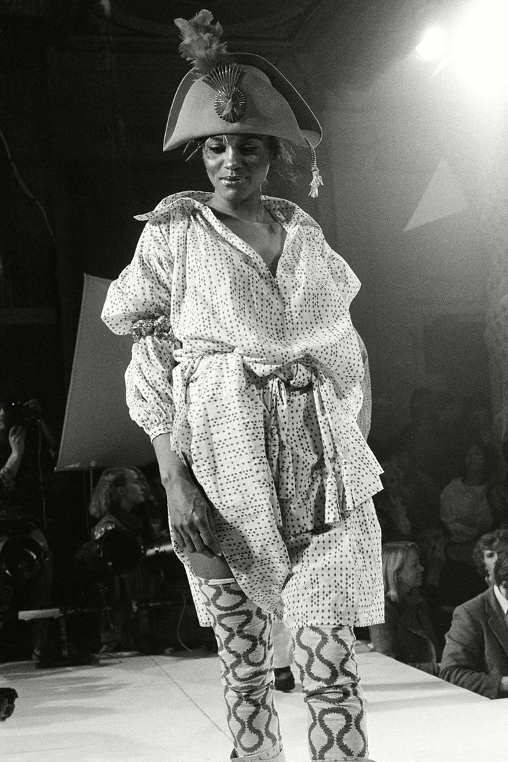 Vivienne Westwood/ World's End Fashion Show at Olympia, London in 1981
