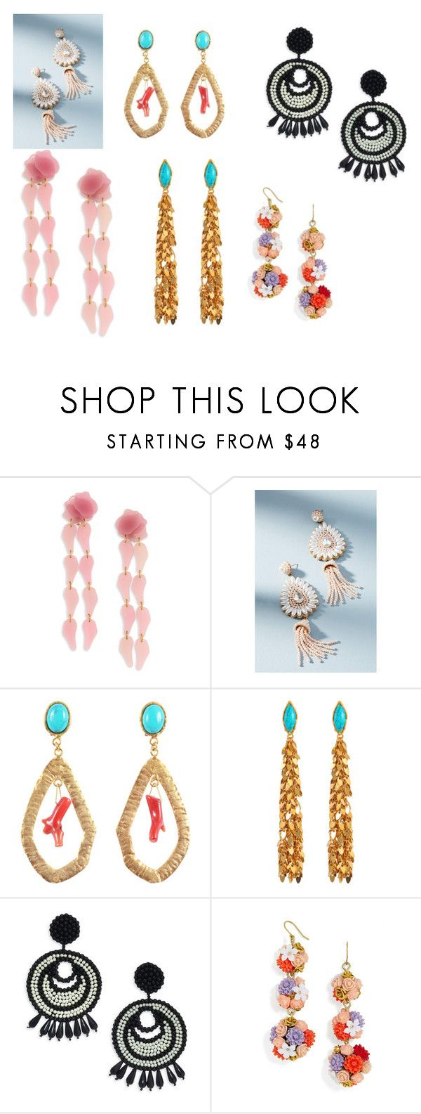 """""""Untitled #12"""" by andrea-noches on Polyvore featuring Lele Sadoughi, Anthropologie, Sylvia Toledano, Kenneth Jay Lane and BaubleBar"""