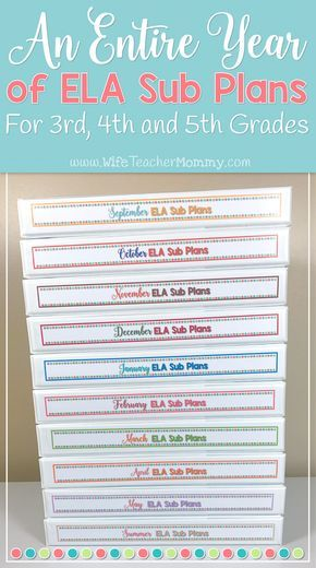 This growing bundle of ELA sub plans for 3rd, 4th, and 5th grade will last you the entire year! Your students will LOVE these activities, and you will rest easy knowing that your students are completing meaningful ELA activities with the substitute while you are away. 3rd grade sub plans. 4th grade sub plans. 5th grade sub plans. Emergency substitute plans for 3rd grade, 4th grade, and 5th grade- GROWING bundle!