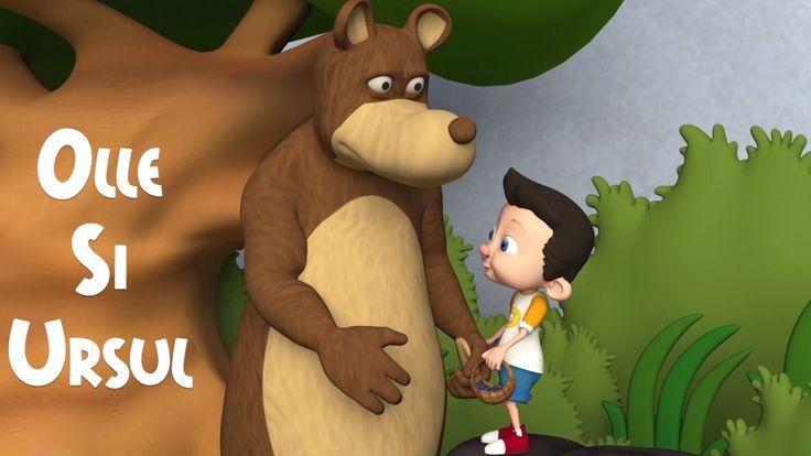 Olle si Ursul - Cantece Pentru Copii - CanteceGradinita.ro