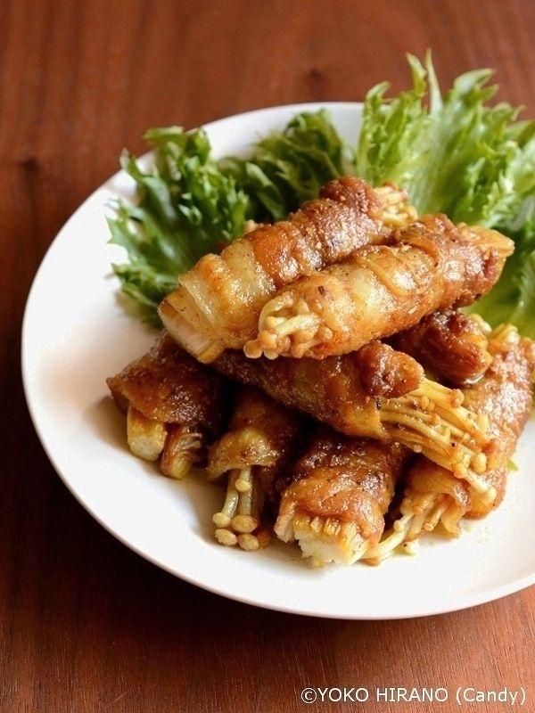 えのきの豚巻き by Candy   レシピサイト「Nadia   ナディア」プロの料理を無料で検索