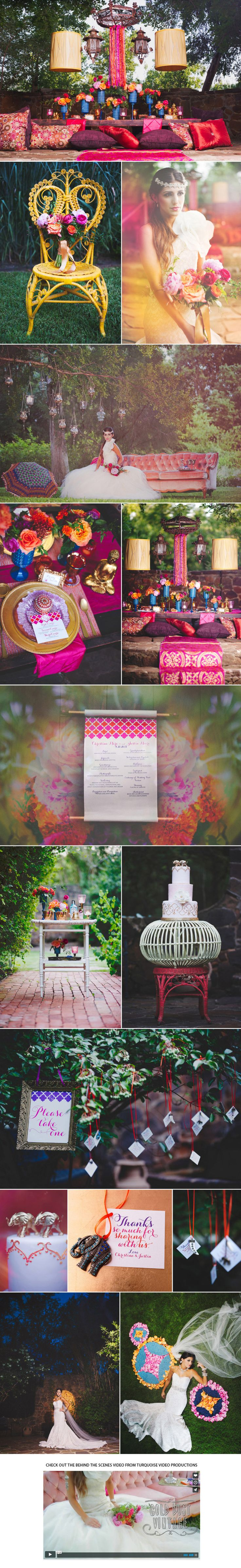 East Meets West Indian Inspired Shoot | Brides of North Texas