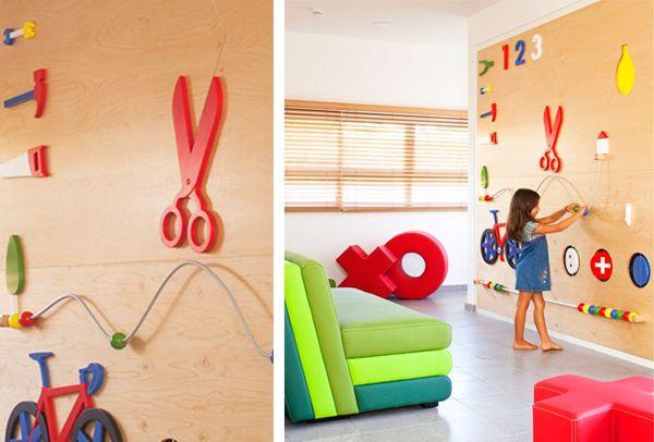 Потрясающий интерьер игровой комнаты для малышей