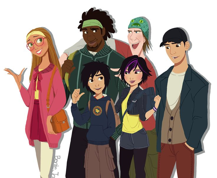 BH6 <3<<TADASHI IS THERE